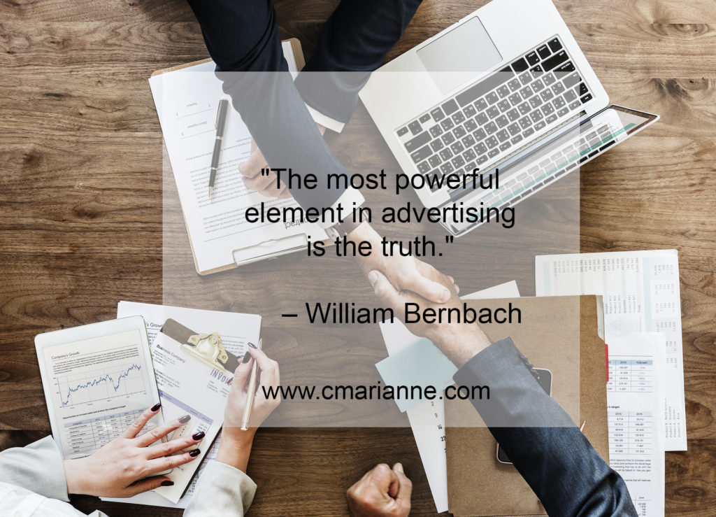 copywriting, sales, advertising quote
