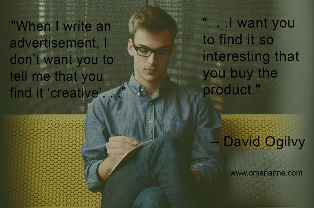 sales, advertising, copywriting quotes