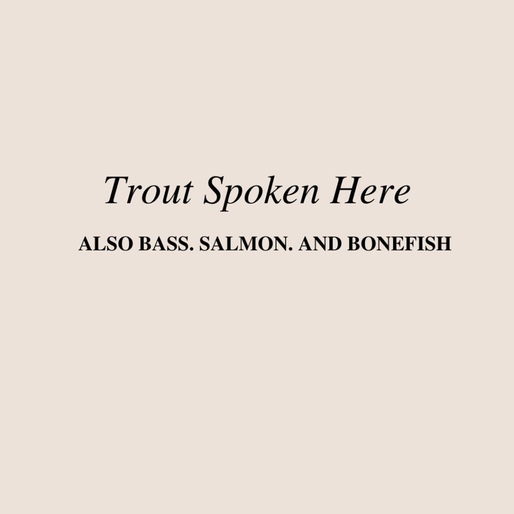 trout spoken here copywriting classic