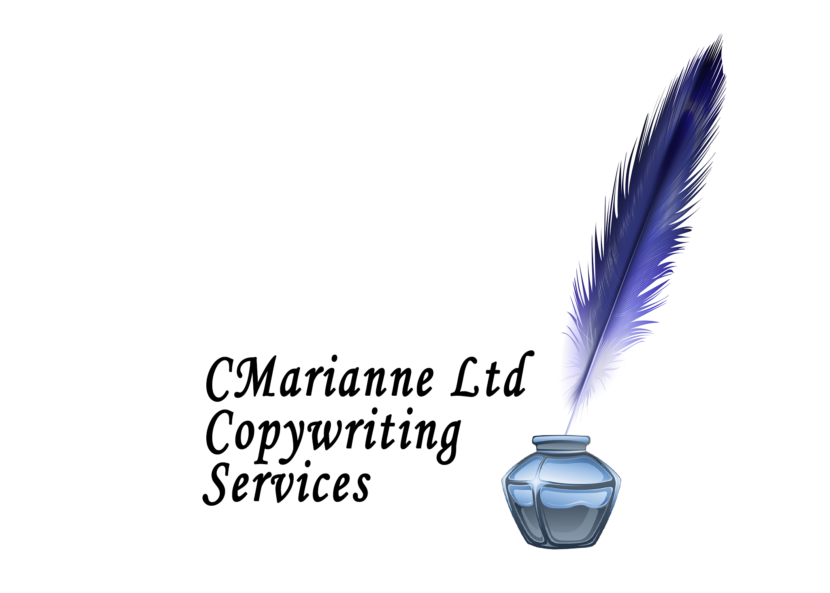 Cmarianne Ltd copywriting services inkpot logo